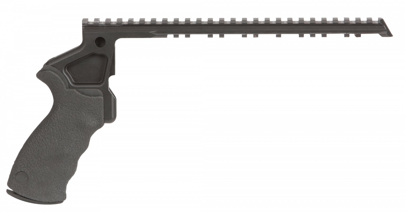 Short Rail Mount Pistol Grip Frame